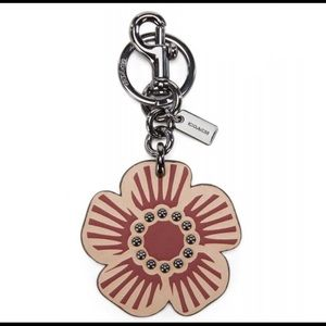 COACH Boxed Willow Floral Bag Charm 28462B